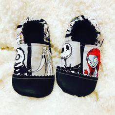 Buy Now Kiddo Kicks Baby Booties in Nightmare Before Christmas...