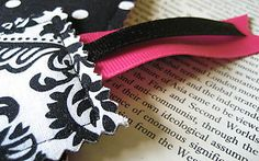 Scrap savvy bookmark tutorial