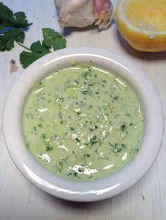 The easiest coriander chutney - Simply Vegelicious