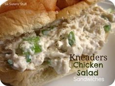 Six Sisters' Stuff: Kneaders Chicken Salad Sandwiches Recipe   *The BEST Chicken Salad anywhere - hope this is right (sw)