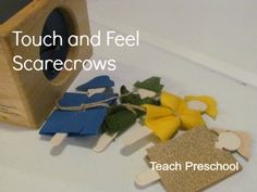 Post image for Touch and Feel Scarecrows