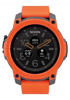 7fda0bfb9 Nixon Mission Smartwatch A11672658 Smartwatch, Wood Watch, Mens Gear,  Android Wear, Digital