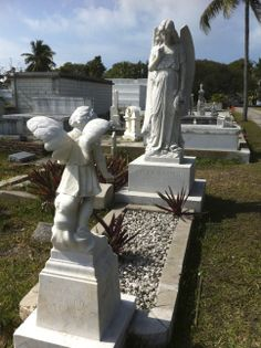 Several scenes are set here in the Key West cemetery. In real life, well worth a tour!