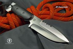 Relentless Knives M1 Commander #survivalknife