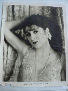 BILLIE DOVE Vintage Original Photo /1920s hollywood starlet / flapper actress movie picture