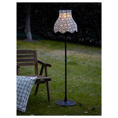 IKEA - SOLVINDEN, LED solar-powered floor lamp,