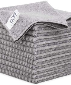 (This is an affiliate pin) Buff Multi Surface Microfiber Cleaning Cloths