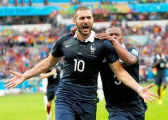 サッカーの第20回ワールドカップ(W杯)ブラジル大会第4日は15日(日本時間16日)、1次リーグE組の第1戦で、5大会連続14回目の出場のフランスが3―0で2大会連続3回目出場のホンジュラスを下した