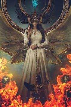 Stillguard [Death Priestess by Carlos-Quevedo on DeviantArt]