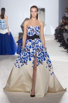 Giambattista Valli Spring 2014 Couture Fashion Show - Irina Liss (Supreme)