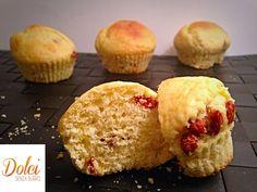 Muffin con Bacche di Goji Senza Burro - Dolci Senza Burro
