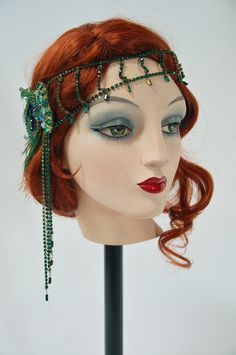 Emerald City Soirée by MataHarisDaughter on Etsy https://www.etsy.com/listing/237954106/emerald-city-soiree