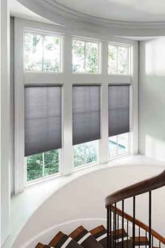 levolor cellular shades in light grey - Levolor Cellular Shades