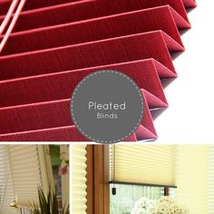 Pleated blinds are the most decorative of all the window blinds available in the market, adds a decorative flair to windows as well as provide you with your privacy. These blinds are highly functional, being almost perfect for awkward windows, making them a great choice for buyers looking for effectiveness and privacy with a decorative element.