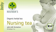 Award winning herbal teas for mum and baby - they taste good too!