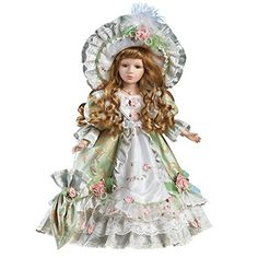 Show Stoppers Azura Fairy Doll Green Porcelain Florence Maranuk Limited Ed NEW