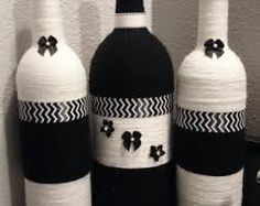 string wrapped bottle - Google Search