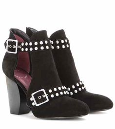Devon studded suede ankle boots | Marc by Marc Jacobs