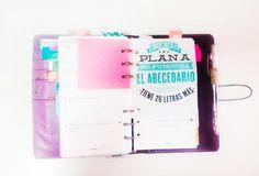 Cómo organizar tu Filofax Ideas para personalizarla!  #Papeleria