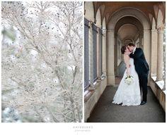 George & Becky // winter wedding » Ampersand Photography | Blog