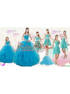 8b1c34d7603 2015 Cheap Teal Sweetheart Quinceanera Dress and Ruching and Beading Short Prom  Dresses and Halter Top Ruffles Little Girl Dress