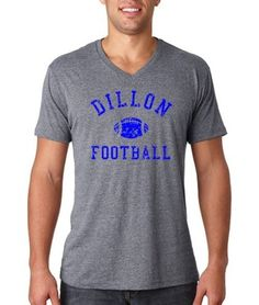 Friday Night Lights EAST DILLON FOOTBALL Vintage Style Heather T-Shirt All Sizes