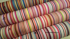 #Rainbow #multi stripe fabric 100% #cotton material quilting bunting stripes craf,  View more on the LINK: http://www.zeppy.io/product/gb/2/281860831200/
