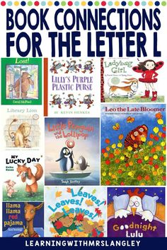 Do your pre-school or kindergarten students struggle when learning the LETTER L? Are you looking for proven activities that will actually help students master the alphabet? I can help! Immerse your students in a letter a day or week to quickly gain fluency in the alphabet. These lessons focus on recognizing the letter L and the initial sound and include detailed lesson plans, rhyming activities, math and science activities, art activities, and more! Rhyming Activities, Science Activities, Alphabet Book, Learning The Alphabet, Leo The Late Bloomer, Initial Sounds, Letter Identification, Letter To Parents, Teaching Letters