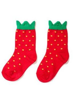 curator strawberry socks