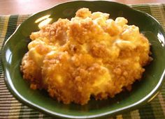 """Mormon """"Funeral"""" Potatoes -w/ ritz cracker topping-These are the best sourcream & cheddar potato casserole you will ever make and eat!!"""