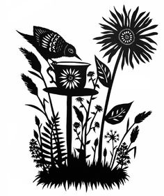 All sizes | Wildflower Tea - Cut Paper Art | Flickr - Photo Sharing!