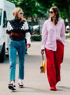 Street style look com fashionistas