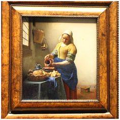 Rijksmuseum Amsterdam - Melkmeisje, Vermeer