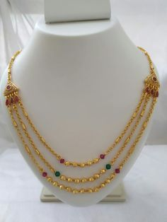 Gold Jewelry Simple, Gold Rings Jewelry, Golden Jewelry, Gold Mangalsutra Designs, Gold Earrings Designs, Gold Chain Design, Gold Jewellery Design, Chains, Gold Necklace