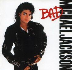 Michael Jackson BAD CD cover design