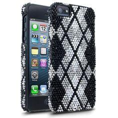 Debari Designer iPhone 5 Cases - Argyle Midnight Cell Phone Case #iPhone5Cases