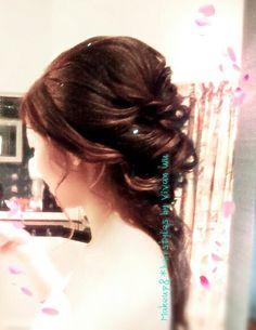 Bridal hairstyle   www.facebook.com/vivanwu