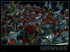 Jessica Seamans' awesome Gremlins poster will go... - Broke Horror Fan