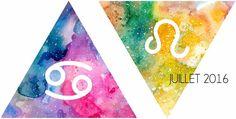 #horoscopes pour juillet 2016 - prévisions astro pour chaque signe du zodiac #lion #verseau # bélier #capricorne #sagittaire