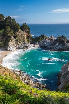 Julia Pfeiffer Burns State Park by David Frey I've been here. It really does look just like this. Heaven!