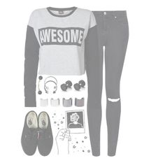 """""""//JetBlackHeart//"""" by alex-bows ❤ liked on Polyvore featuring Topshop, ONLY, Vans, Pieces and Luv Aj"""