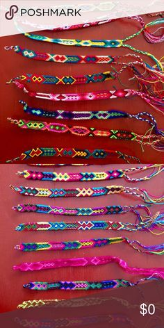 FREE!!! Friendship Bracelet With Every Bundle! *Hand made from artisans of Chiapas, Mexico.                *Every Bracelet is unique Accessories