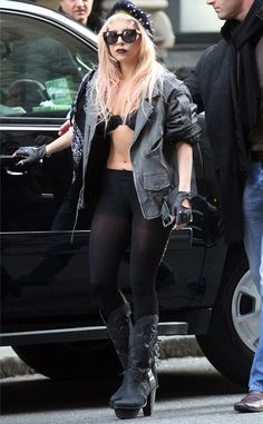 Right on Track from Lady Gaga in Bra Tops | E! Online