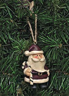 Santa Claus ornament..wicked cute