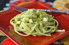 Lemony avocado linguini Alfredo  An Alfredo-style pasta dish is always a treat... until the richness weighs you down. Don't forgo a creamy plate of pasta — try this lighter, lemony avocado Alfredo dish instead. It's creamy but not heavy, and it's a snap to make.