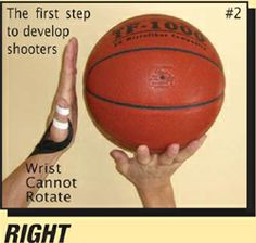 Why does EVERY player need The SHOOTING STRAP?A universal problem for EVERY player is using the non-dominant hand (guide-hand) - usually the thumb - to help provide force for the shot. The problem is most evident during long distance shots.This habit is the #1 cause of left/right misses. To make matters worse, it often goes undetected because the movement happens so fast.See Photo #1 below.