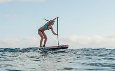 Training Tips for the Pacific Paddle Games    Local paddler Shae Foudy practices at Doheny State Beach. Expect a good performance from her in October. Photo: Aaron Black-Schmidt