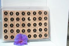 Stampin UP Alphadot Letters and Numbers by MyCreativePossession