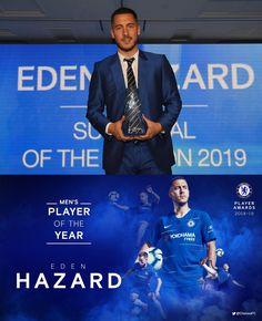 10/05/2019 - Eden Hazard wins Men's Player of the Year!👌