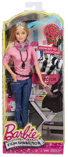Barbie Career of The Year Director Doll New Barbie Dolls, Barbie 2000, Barbie Fashionista Dolls, Mattel Barbie, Barbie And Ken, Barbie Dress, Girl Dolls, Ken Doll, Blonde Kids